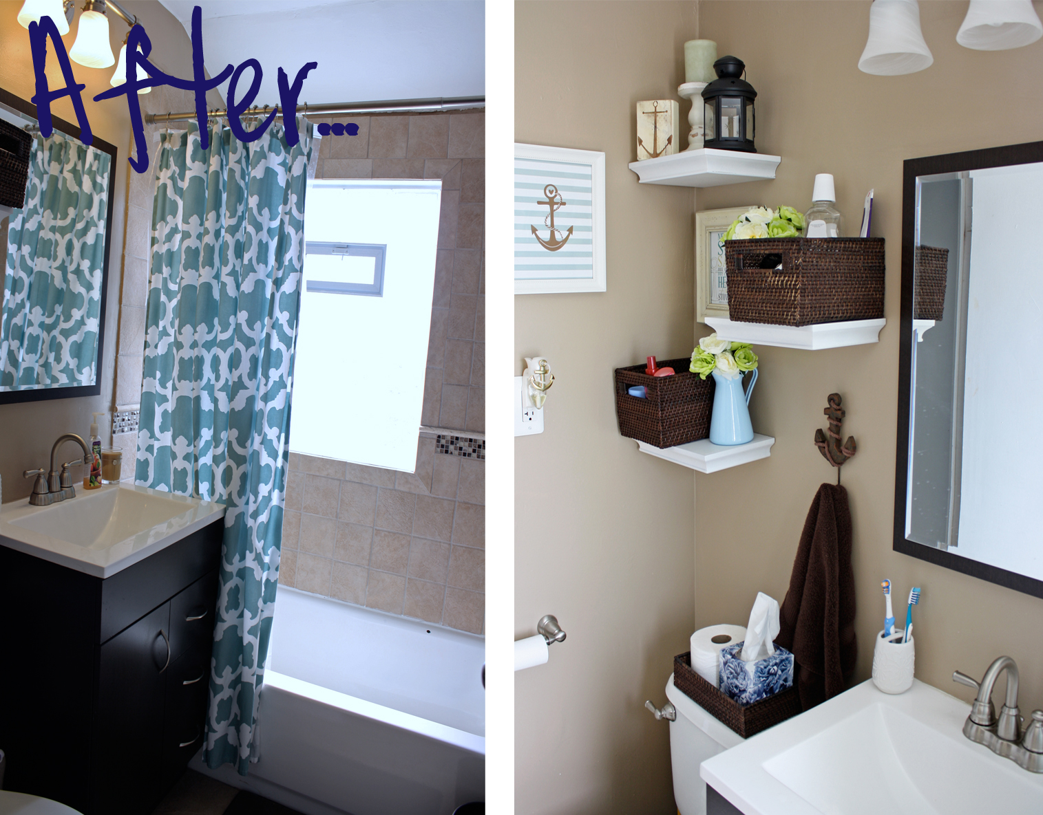 Easy Bathroom Decorating Ideas: Less Than Average Height