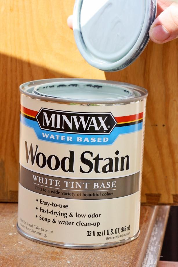 wood stain minwax