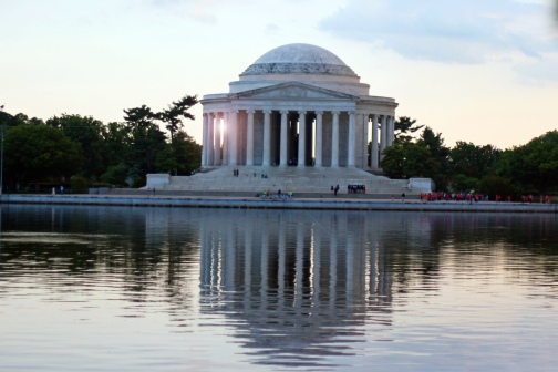 Jefferson Memorial Sunset 2