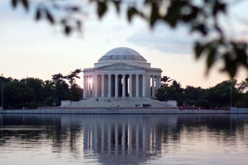 Jefferson Memorial Sunset 3