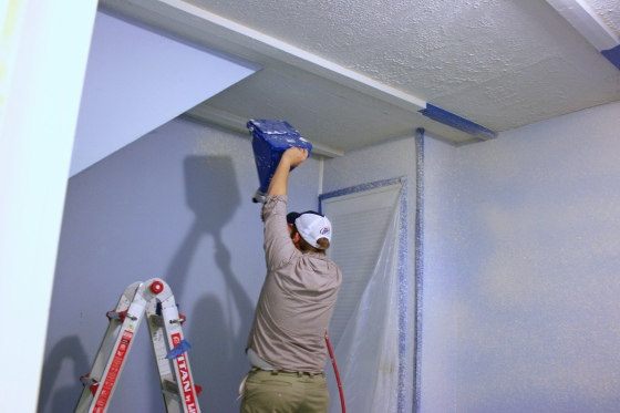 Texturing the Guest Room Walls