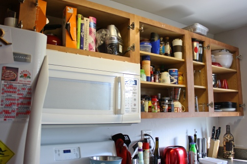 Kitchen Cabinet Before 4