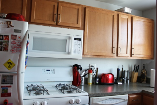 Kitchen Cabinets Before 1