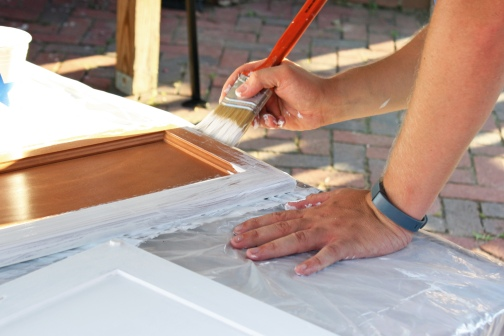Painting Cabinets 2