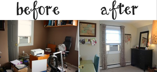 Office Before and After