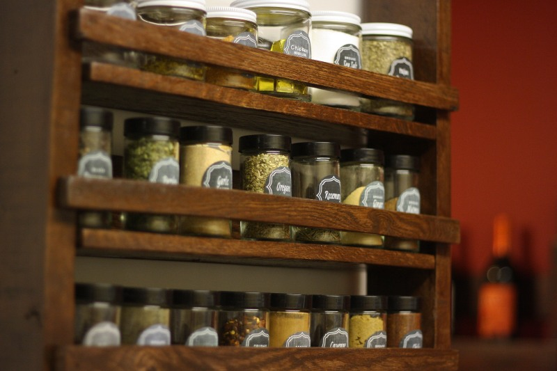 spice rack plans to build