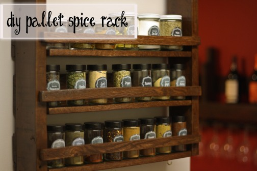 Pallette Spice Rack